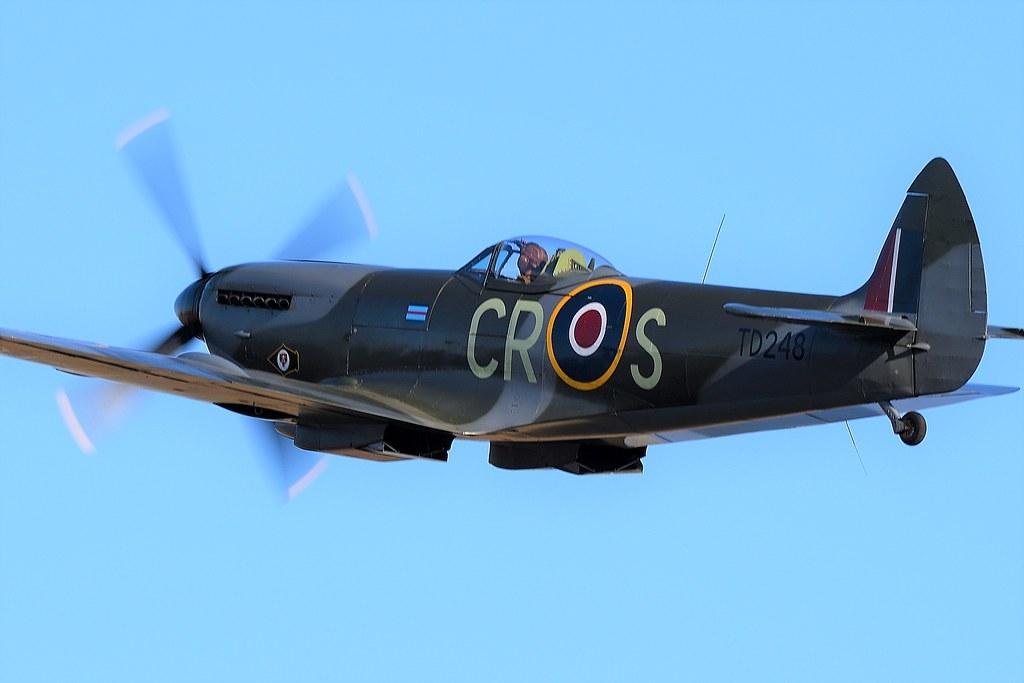 RAF Supermarine Spitfire LFXVIe G-OXVI TD248