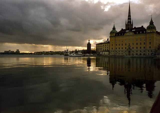 Analog: Riddarfjärden, Stockholm Sweden