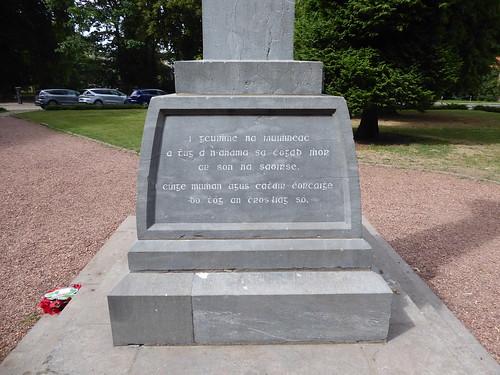 YPRES SALIENT - Munster Irish Memorial 27 July 2017