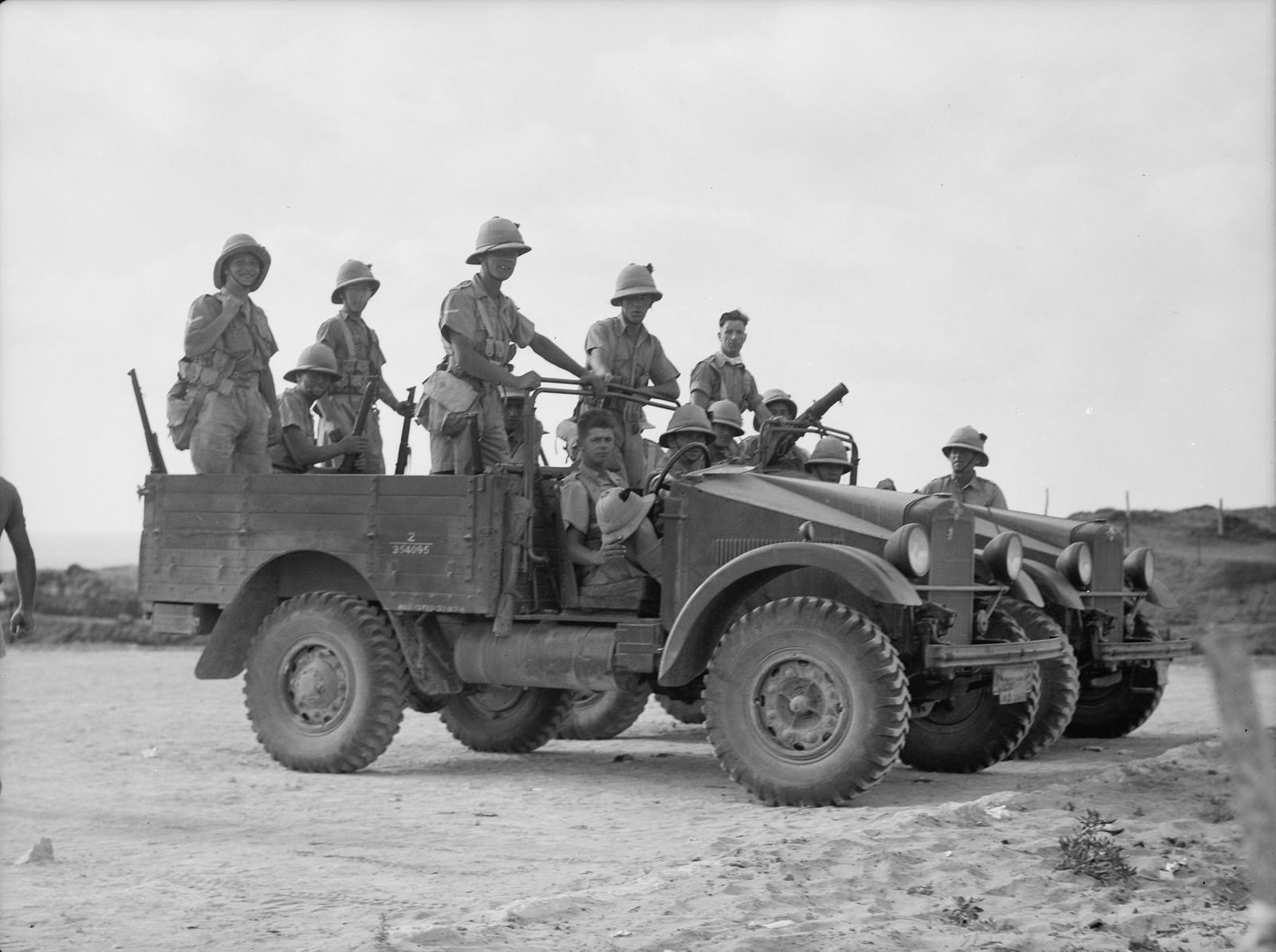 10. Британские войска в Натании.