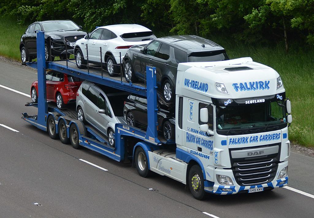 Falkirk Car Carriers SH15KNV | M74 Coatsgate 12/06/2019 | Flickr