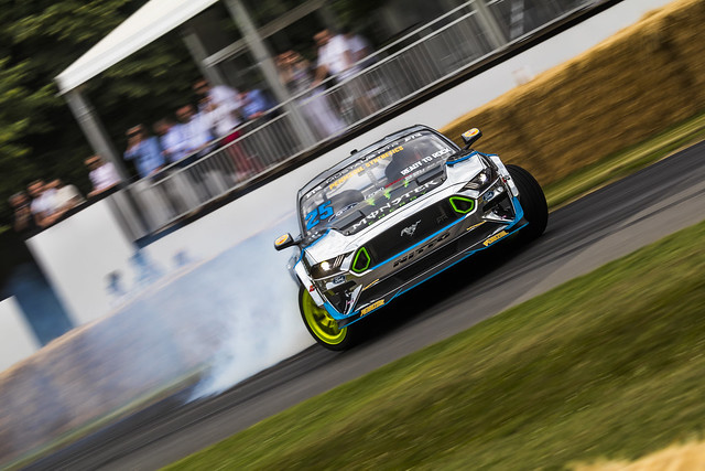 Ford Mustang RTR Drifting - Goodwood Festival of Speed 2019