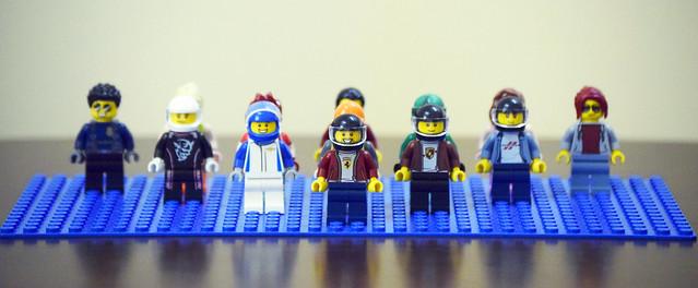 The League of Extra Ordinary Legomen.