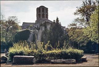 Les Alyscamps, Arles aix1974-026