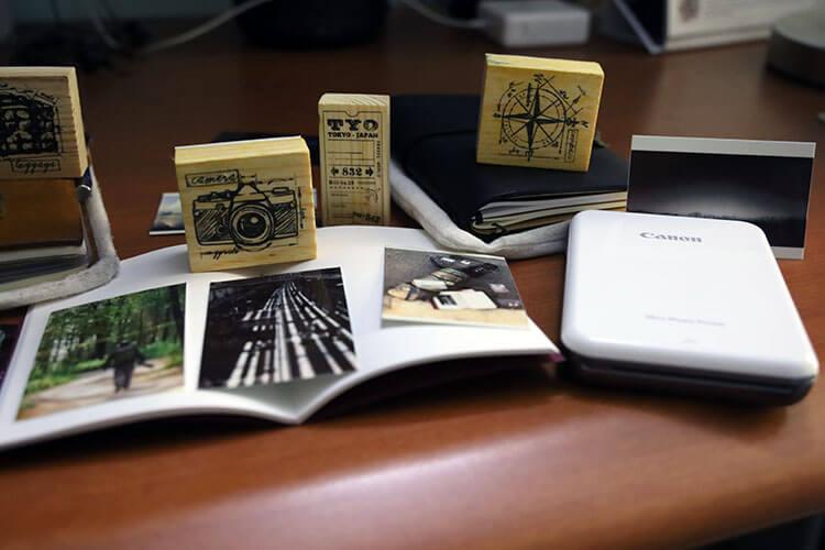 Canon iNSPiC [P] pocket-sized portable printer