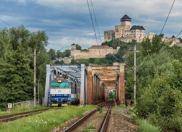 Gorila na hrad II.   350.014   IC 504   ZSSK   Trenčín