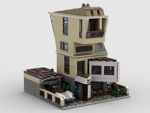 LEGO contemporary living 32 x 32 baseplate_3
