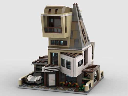 LEGO contemporary living 32 x 32 baseplate