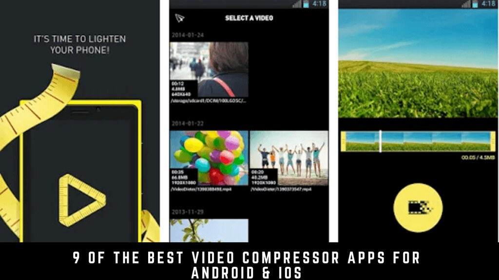 9 Of The Best Video Compressor Apps For Android & iOS