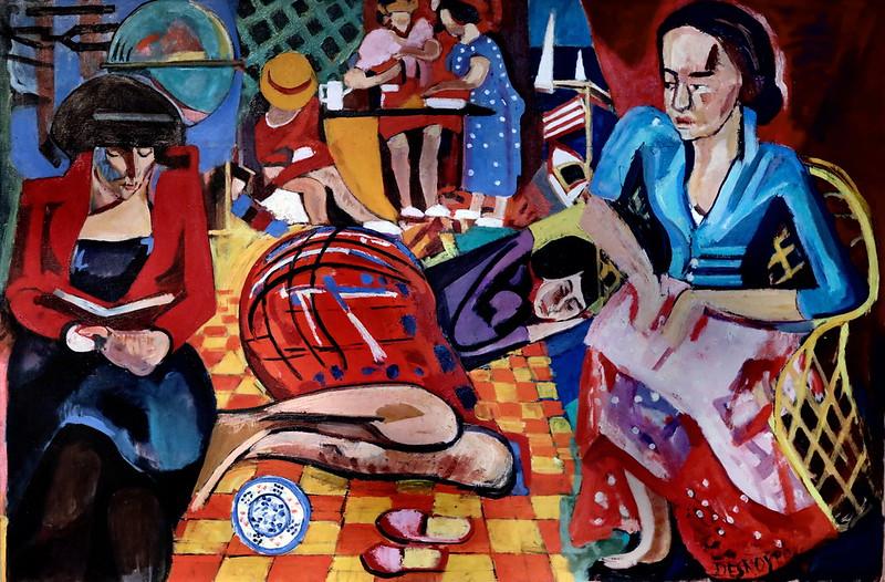 IMG_6667A François Desnoyer. 1894-1972.   La cuisine. The kitchen. 1960.  Sète Musée Paul Valéry.