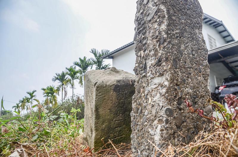 福海農場總督府11-0水泥柱、水利局林河第11號石柱(Elev. 22 m) (1)