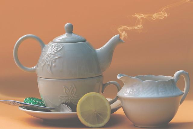 Tea-rific for Smile on Saturday 💛