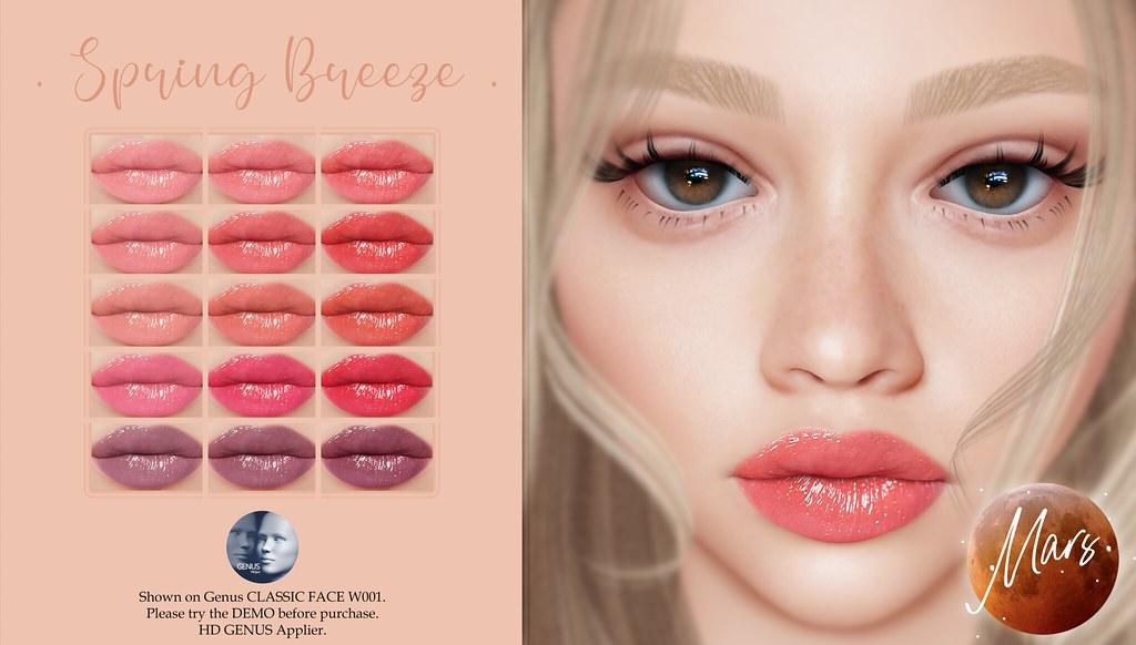 .Mars. – Spring Breeze HD GENUS Lipstick