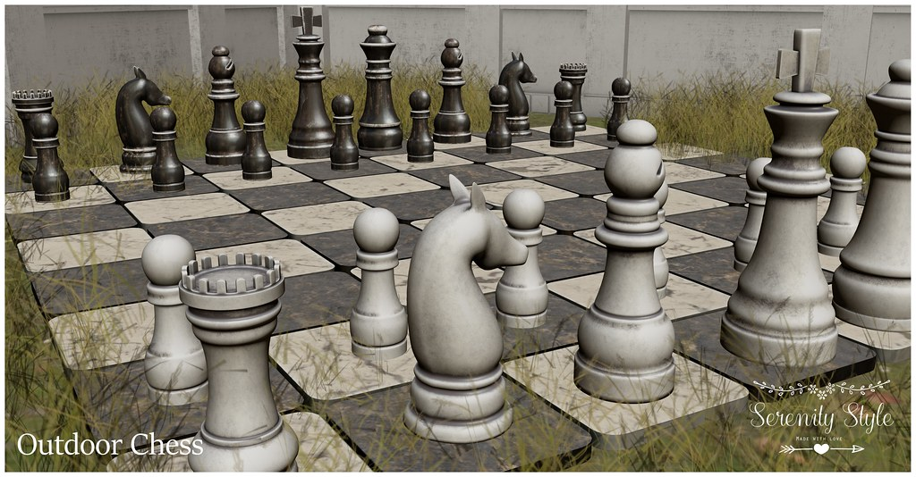 Serenity Style- Outdoor Chess