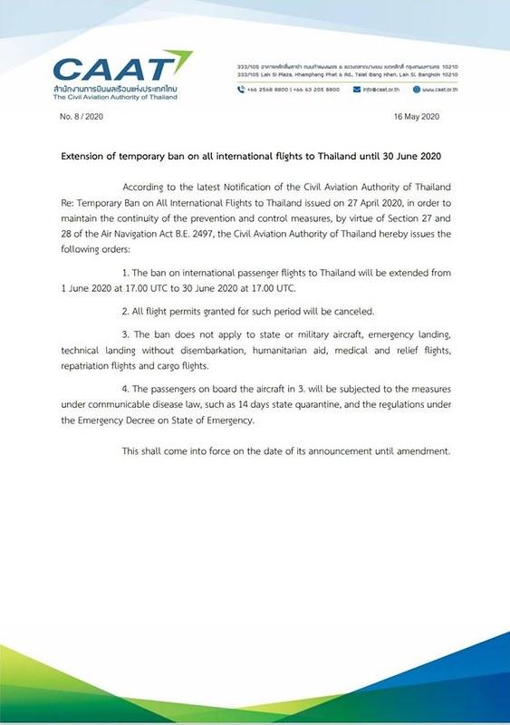 thailand ban