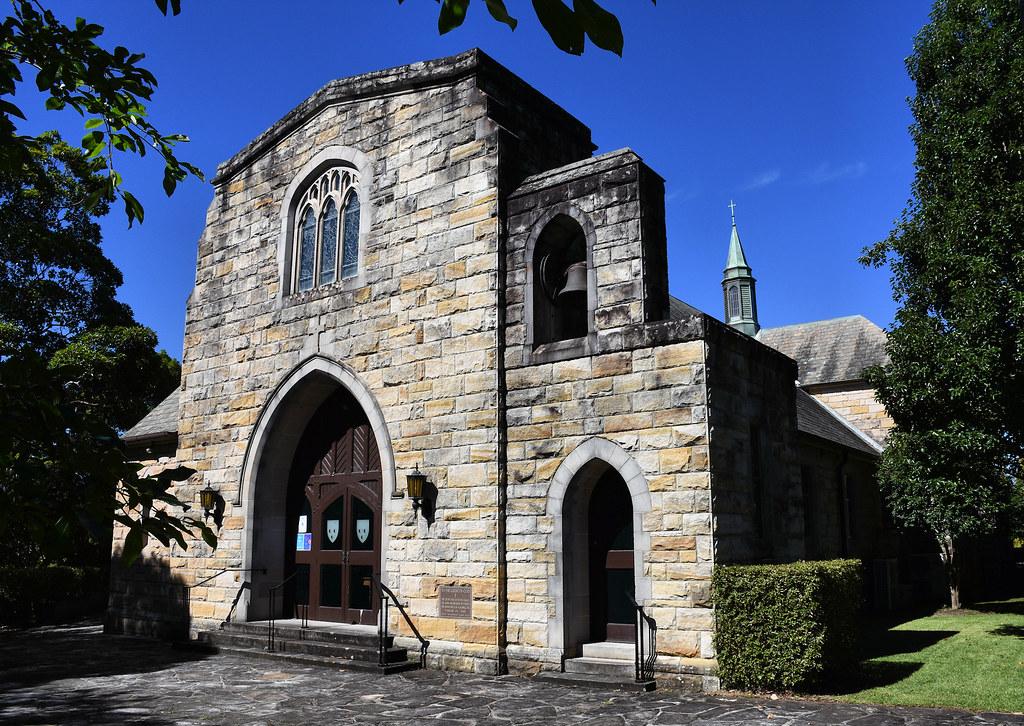 St Swithun's Anglican Church, Pymble, Sydney, NSW.