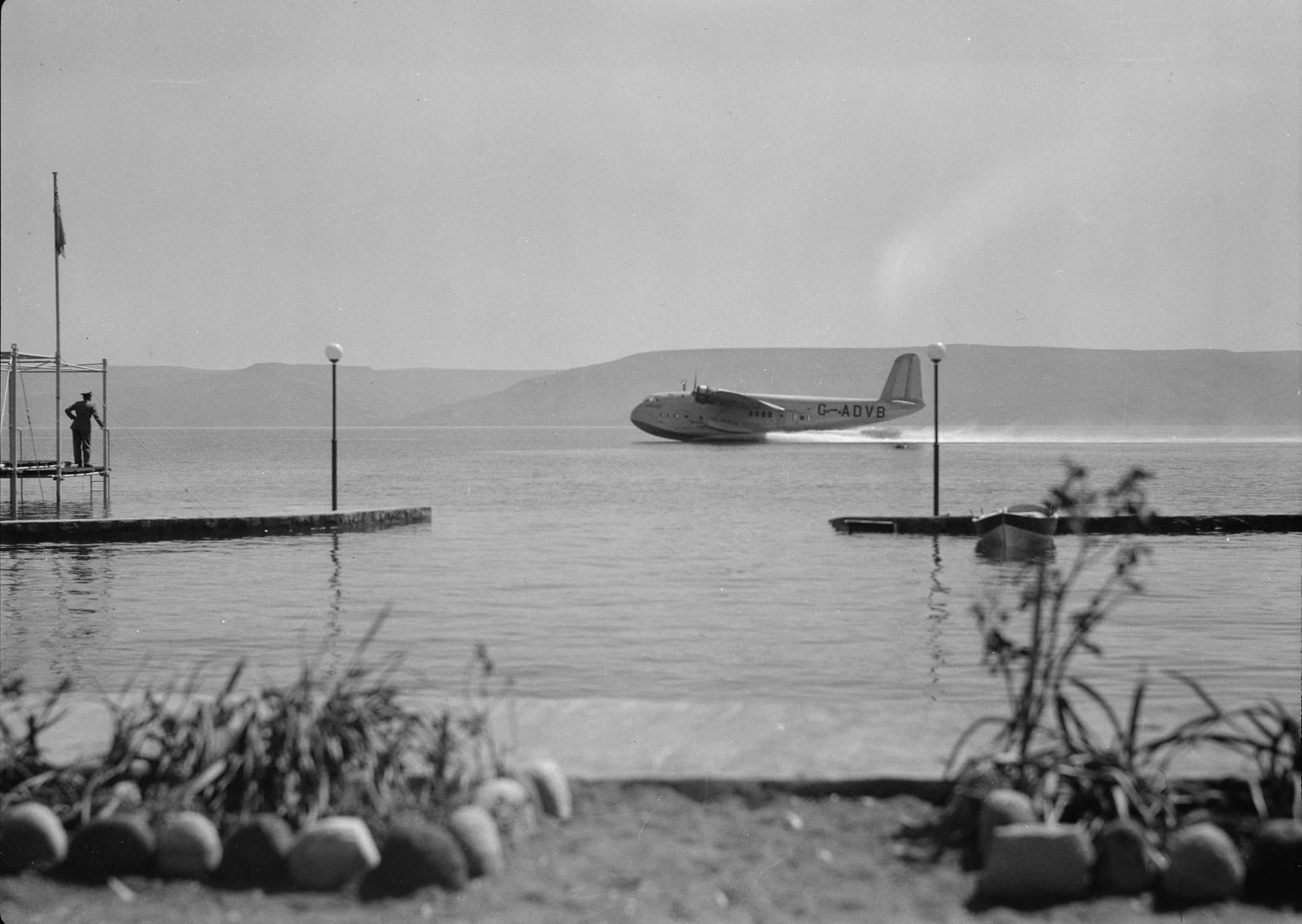 21. Кинерет. Лидо. Летающая лодка