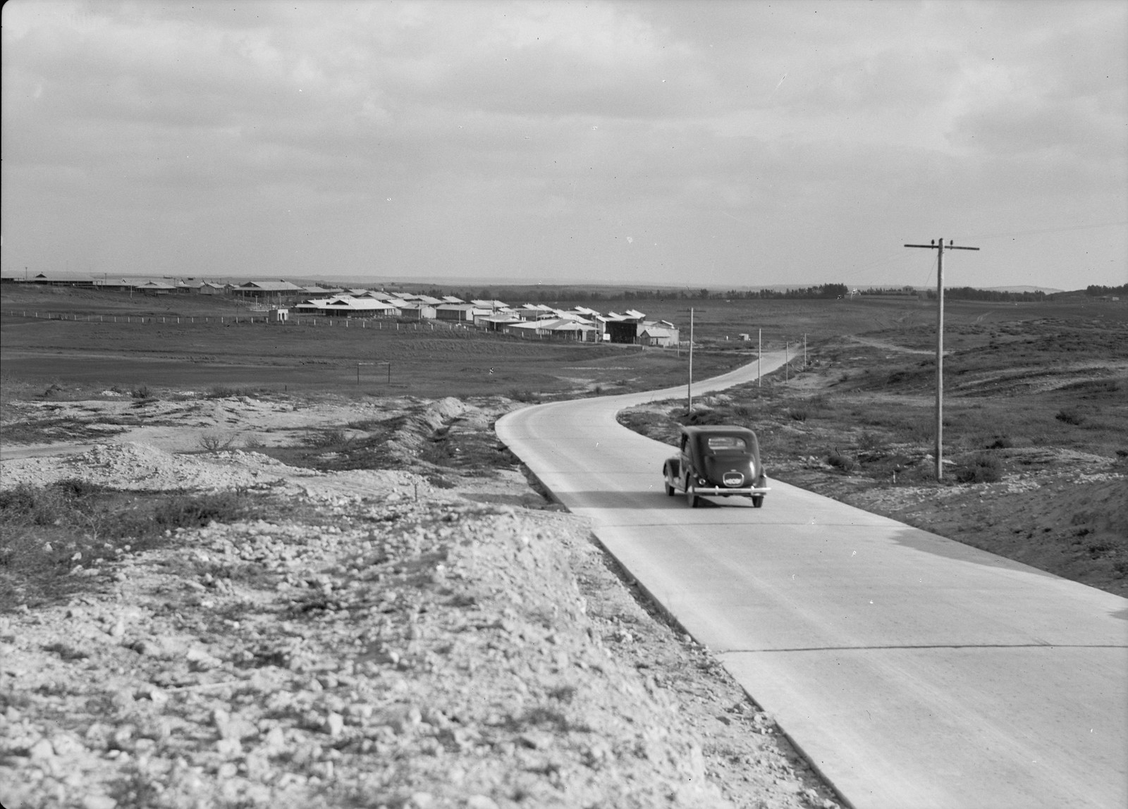 12. Британский военный лагерь возле Натании