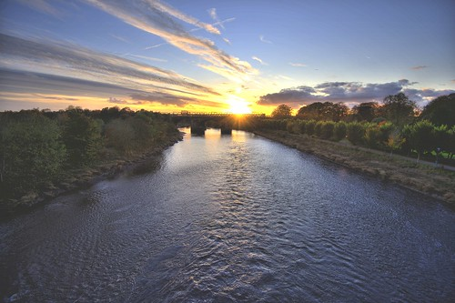 River Ribble Sunset | by Tony Worrall