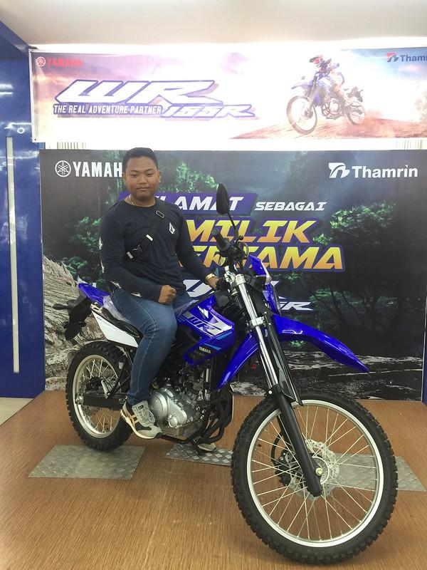 Konsumen pertama WR 155R Sumatera Selatan