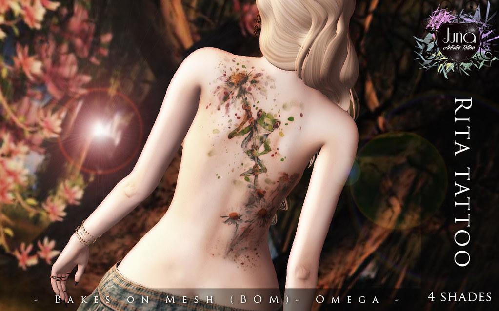 Rita tattoo