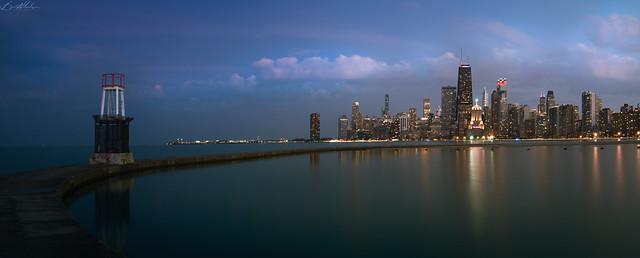Chicago Over My Shoulder