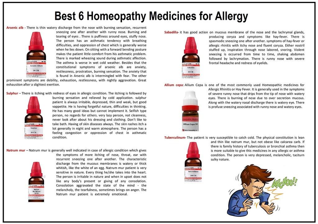 ALLERGIES HOMEOPATHY TREATMENT AND REMEDIES IN SYDNEY, AUSTRALIA ...