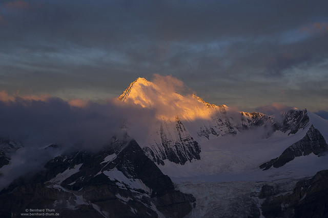 First light at Weisshorn N°3