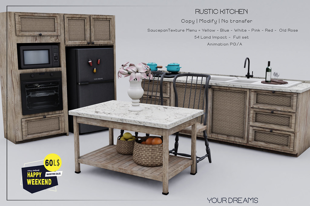 {YD} Rustic Kitchen