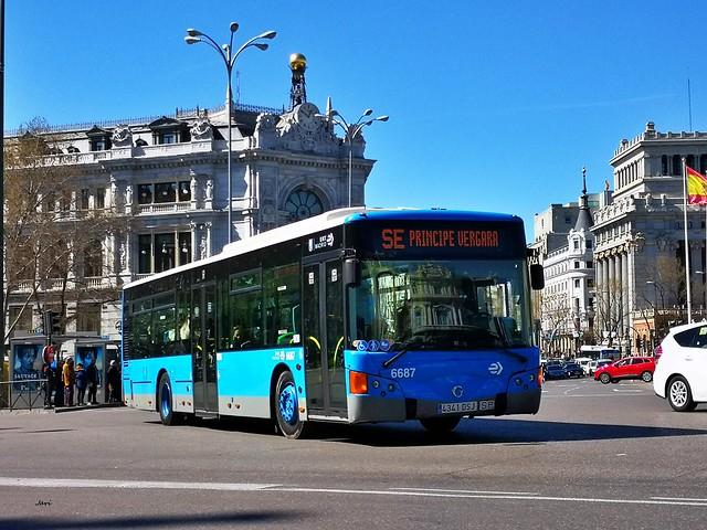 Noge Cittour Irisbus 6687 EMT Madrid
