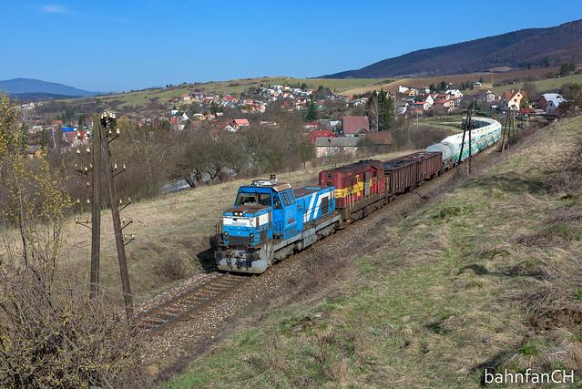 ZSSK Cargo Pn 68321 in Ráztočno