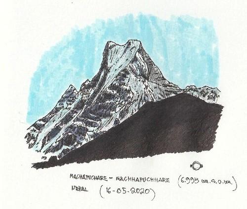 Nepal-2010. Machhapuchhare (6.993 m.s.n.m.)