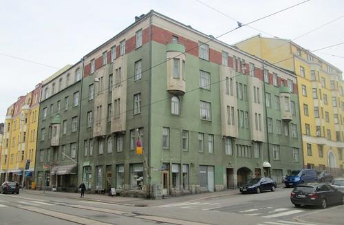 Helsinki, Art Nouveau Building
