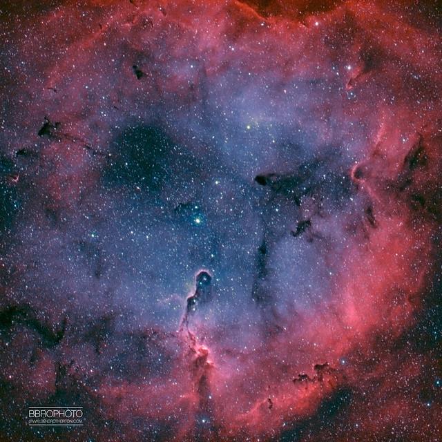 IC1396 - Bi-colour (HOO)