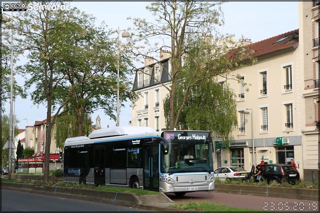 Heuliez Bus GX 337 GNV – RATP (Régie Autonome des Transports Parisiens) / Île de France Mobilités n°2787