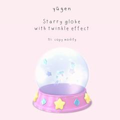 Yūgen.// starry globe