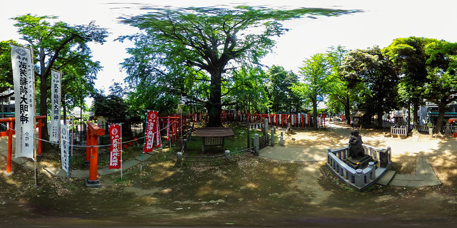 360° | Kishimojin Temple, Zōshigaya