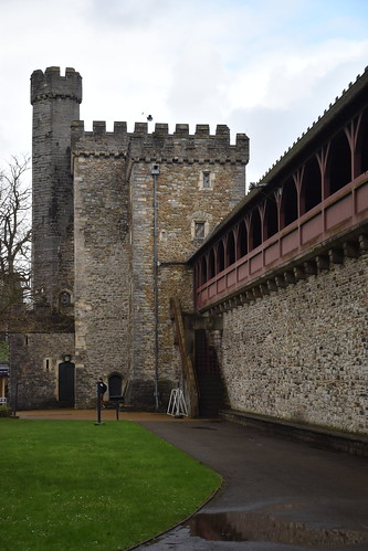 The Black Tower, Cardiff Castle