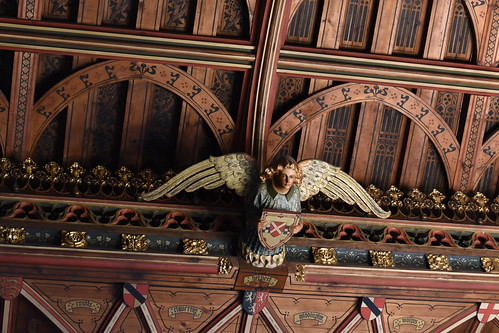 Angel in The Banqueting Hall