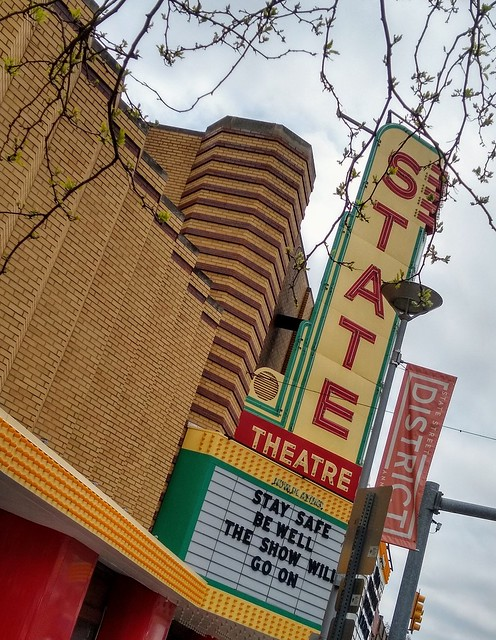 Stay safe, the show will go on. (Ann Arbor, MI)
