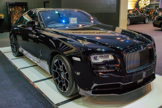 Rolls-Royce luxury sports coupe at the 38th Bangkok International Motorshow  at IMPACT Challenger hall in Muang Thong Thani, Nonthaburi, Thailand
