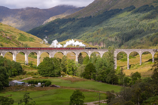 Armchair Traveling - The Glenfinnan Viaduct, Scotland