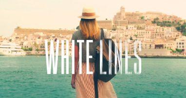 White lines Ibiza