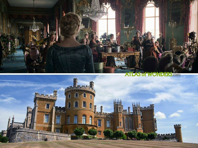 Belvoir Castle scene
