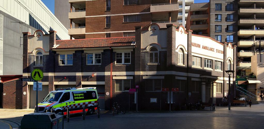 Auburn Ambulance Station, Sydney, NSW.