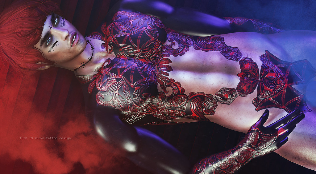 THIS IS WRONG Succubus shine+tattoo 3D - exclusive for Man Cave