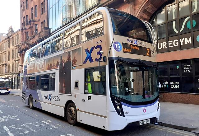 First Glasgow Alexander Dennis Enviro 400 MMC 33984HB