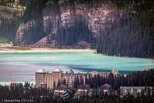 Lake Louise at 600mm