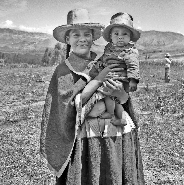 A smile from a mother of Cajamarca