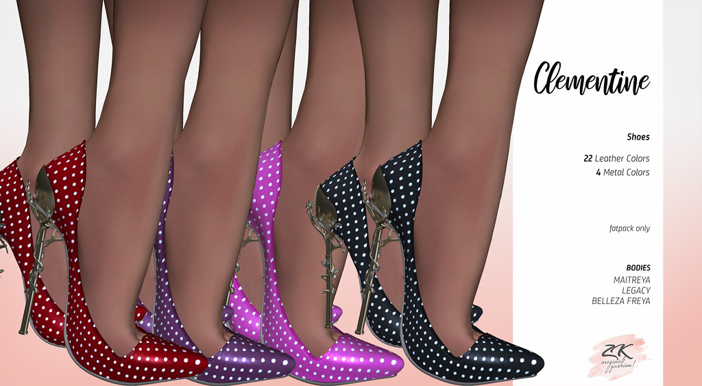 ZK CLEMENTINE SHOES EXCLUSIVE @ COSMOPOLITAN EVENT